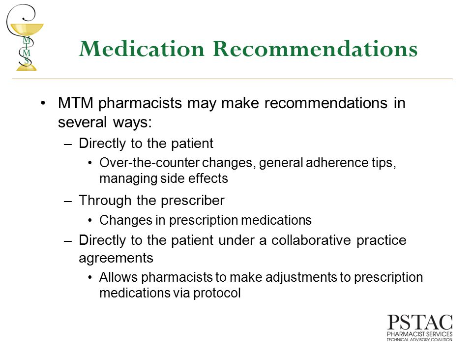 Medication Recommendations