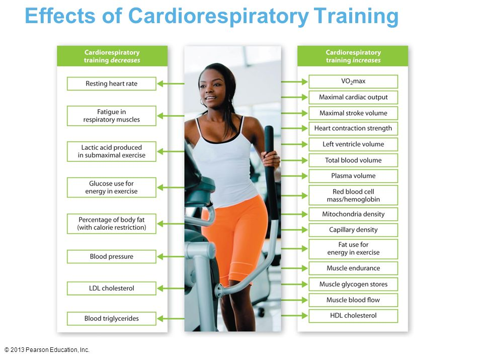 Effects of Cardiorespiratory Training