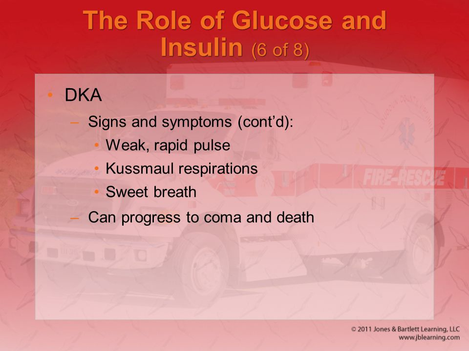 The Role of Glucose and Insulin (6 of 8)