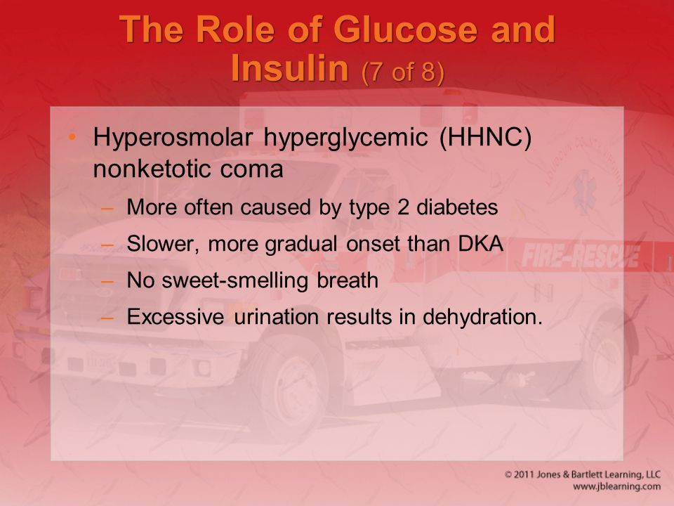 The Role of Glucose and Insulin (7 of 8)