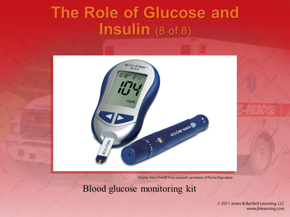 The Role of Glucose and Insulin (8 of 8)
