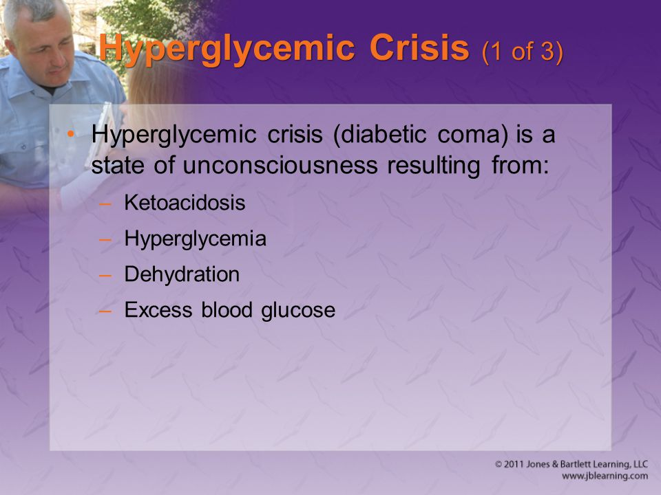 Hyperglycemic Crisis (1 of 3)