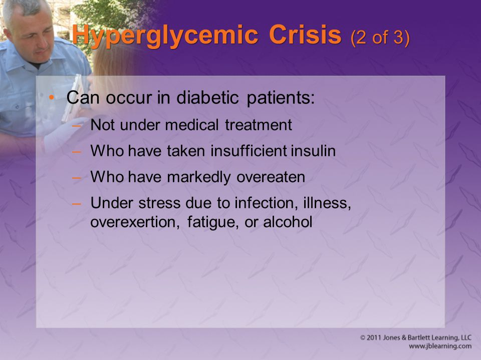 Hyperglycemic Crisis (2 of 3)