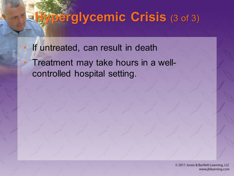 Hyperglycemic Crisis (3 of 3)