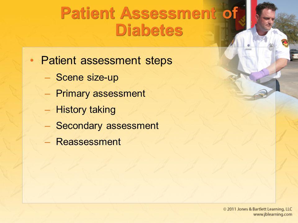 Patient Assessment of Diabetes