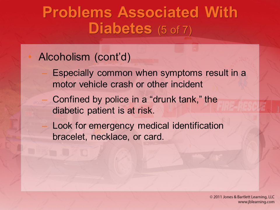 Problems Associated With Diabetes (5 of 7)