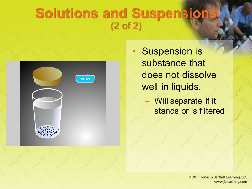 Solutions and Suspensions (2 of 2)