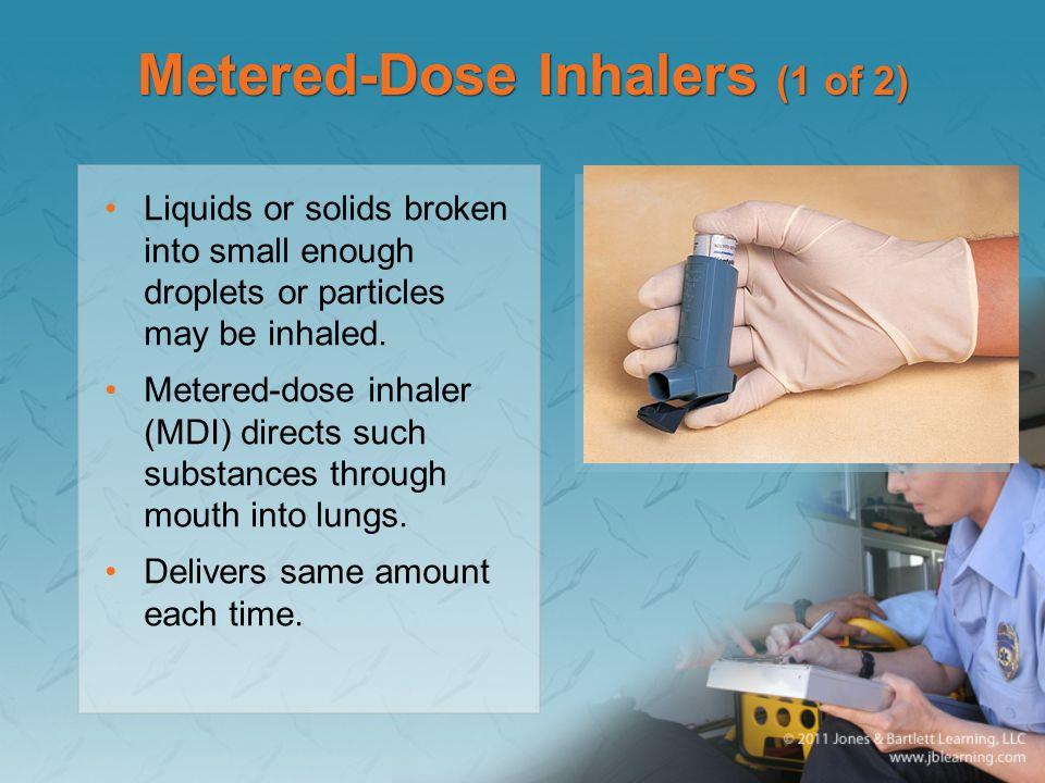 Metered-Dose Inhalers (1 of 2)