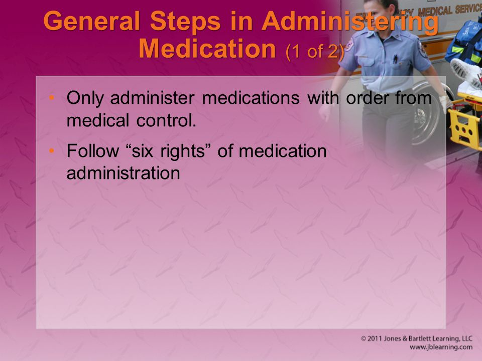 General Steps in Administering Medication (1 of 2)