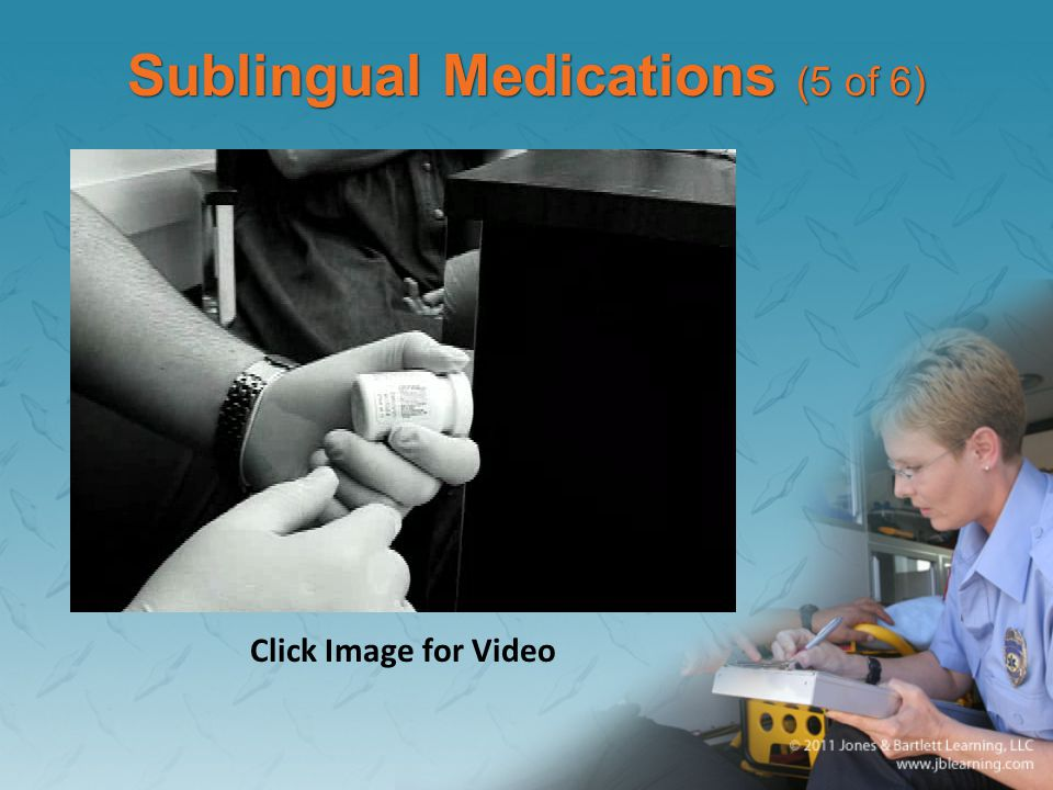 Sublingual Medications (5 of 6)