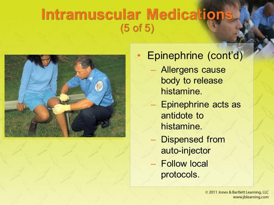 Intramuscular Medications (5 of 5)