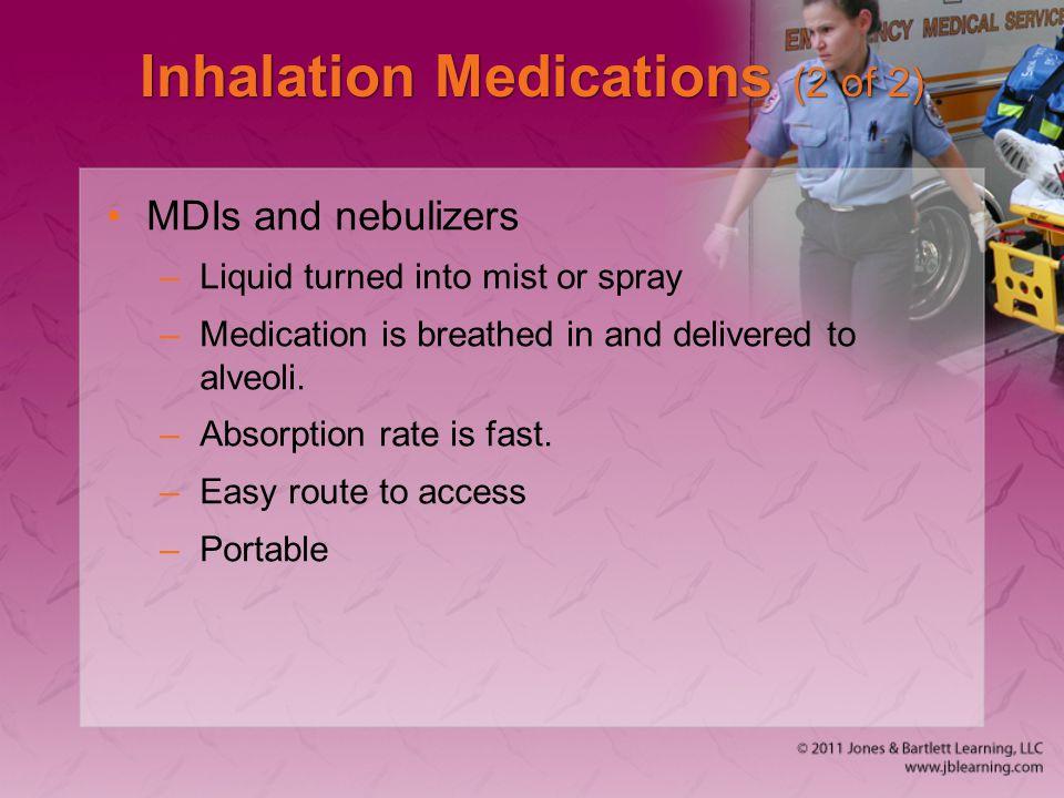 Inhalation Medications (2 of 2)