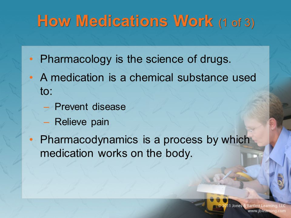 How Medications Work (1 of 3)