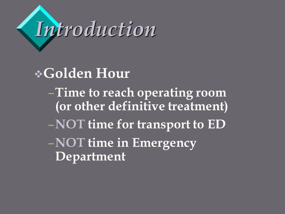 Introduction Golden Hour