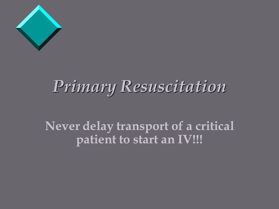 Primary Resuscitation