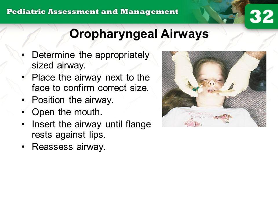 Oropharyngeal Airways