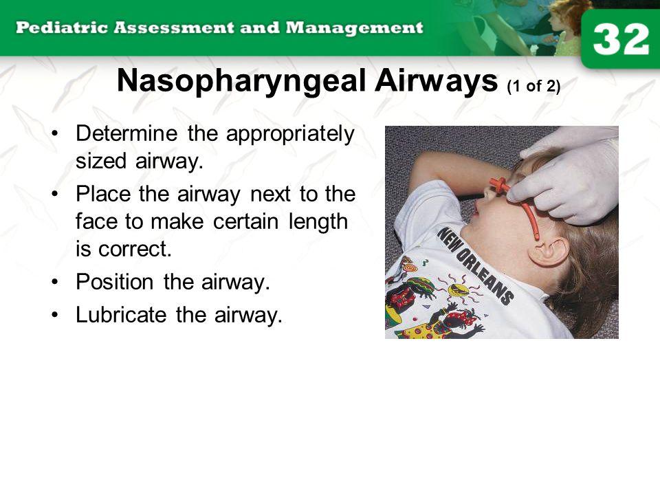 Nasopharyngeal Airways (1 of 2)