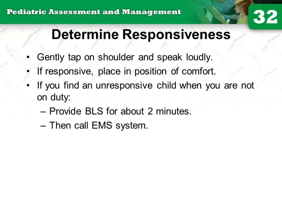 Determine Responsiveness