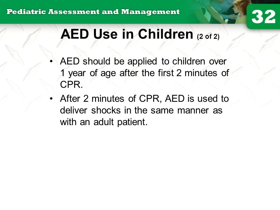 AED Use in Children (2 of 2)