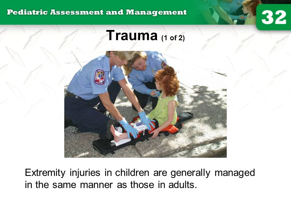 Trauma (1 of 2) © Jones and Bartlett Publishers. Courtesy of MIEMSS.