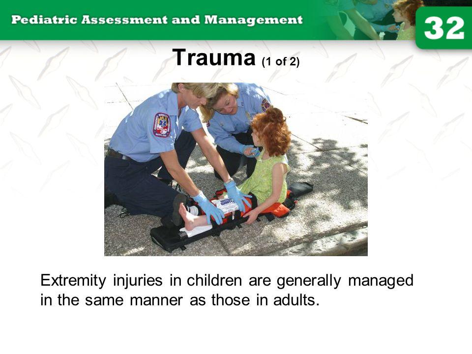 Trauma (1 of 2) © Jones and Bartlett Publishers. Courtesy of MIEMSS.