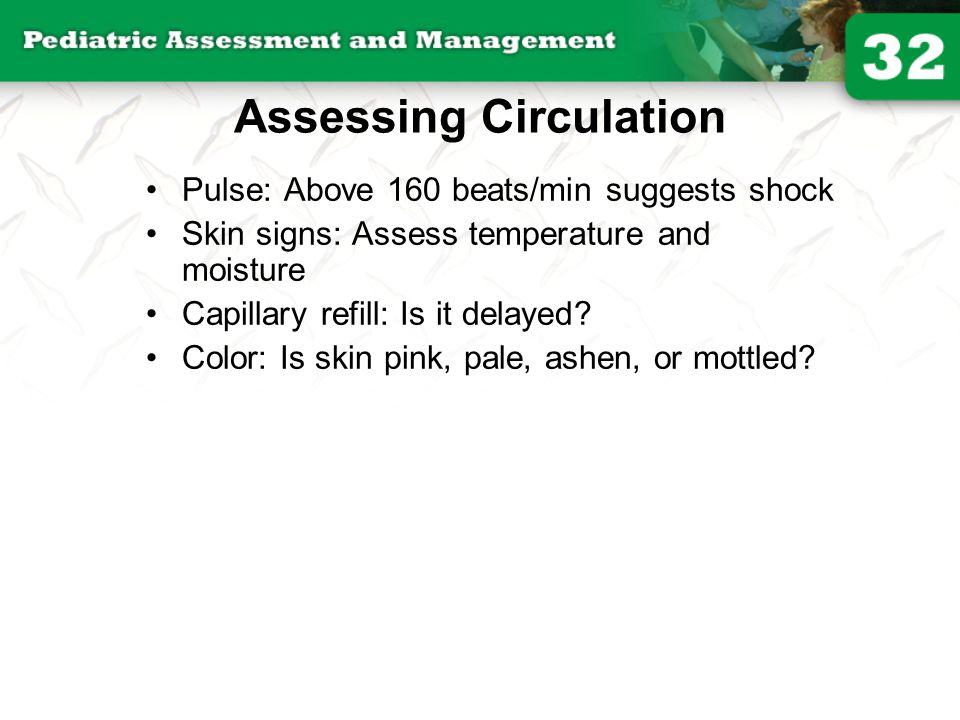 Assessing Circulation