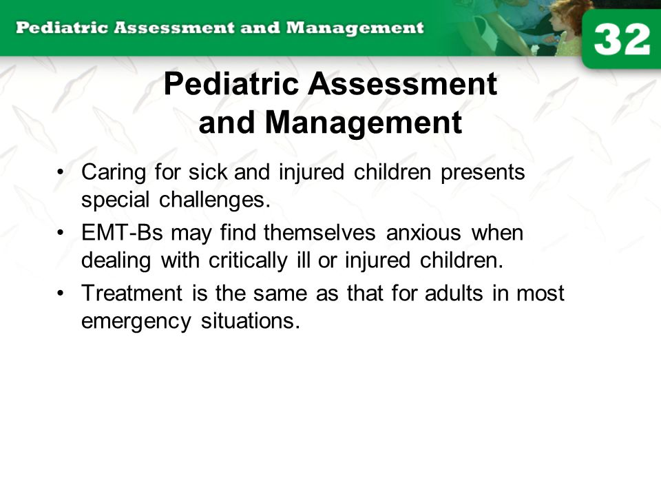 Pediatric Assessment and Management