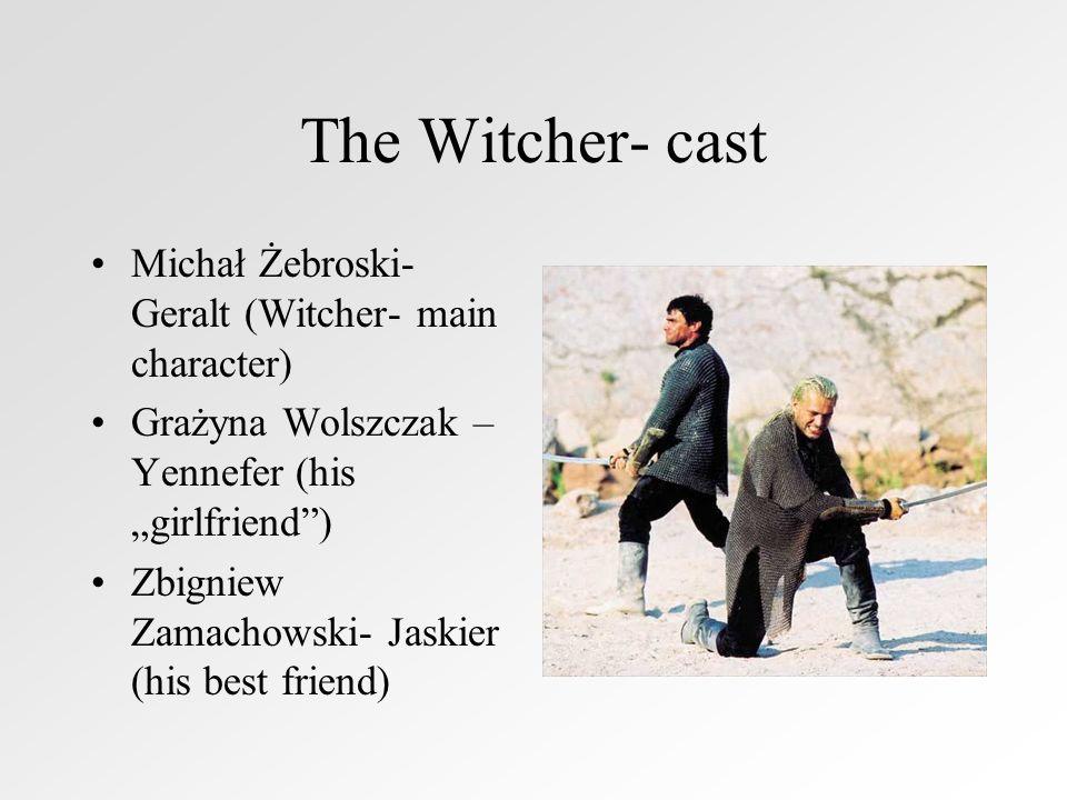 The Witcher- cast Michał Żebroski- Geralt (Witcher- main character)