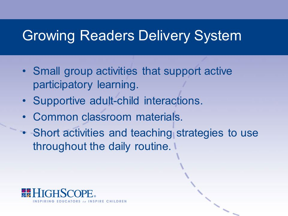 Growing Readers Delivery System