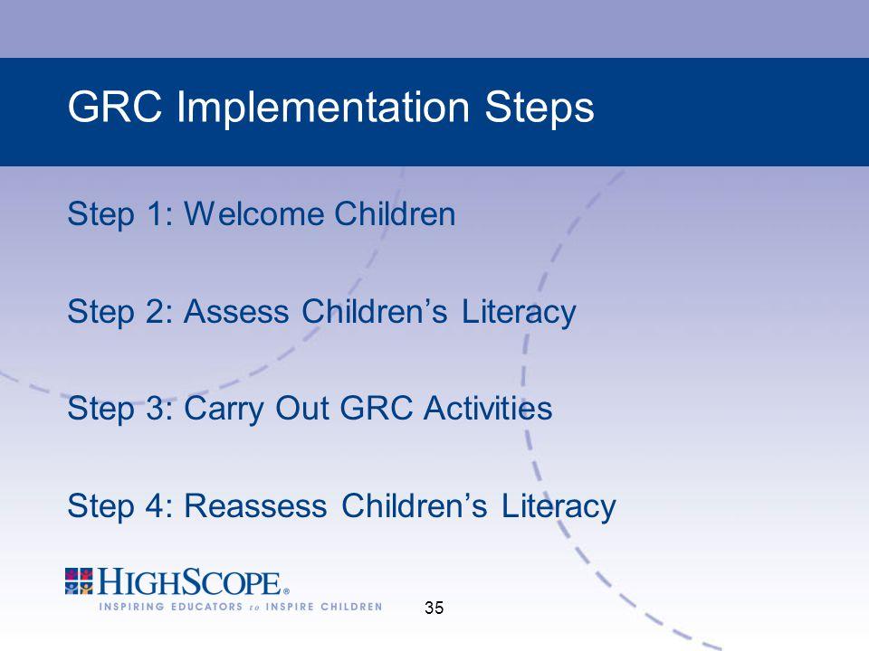GRC Implementation Steps