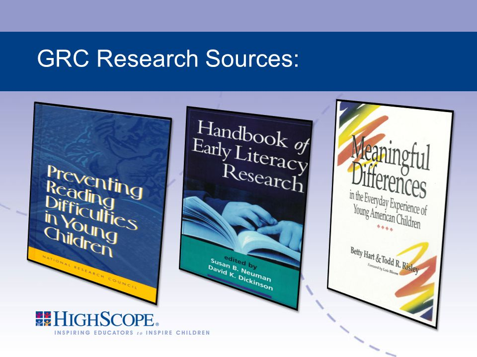 GRC Research Sources: