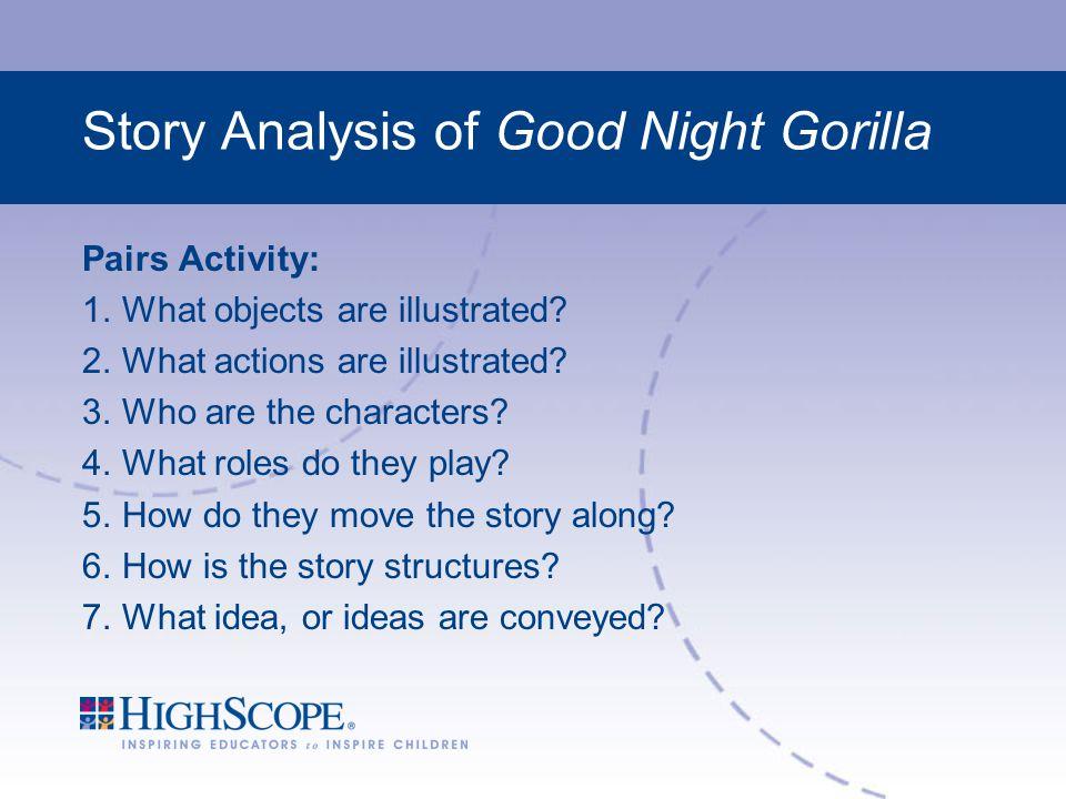Story Analysis of Good Night Gorilla