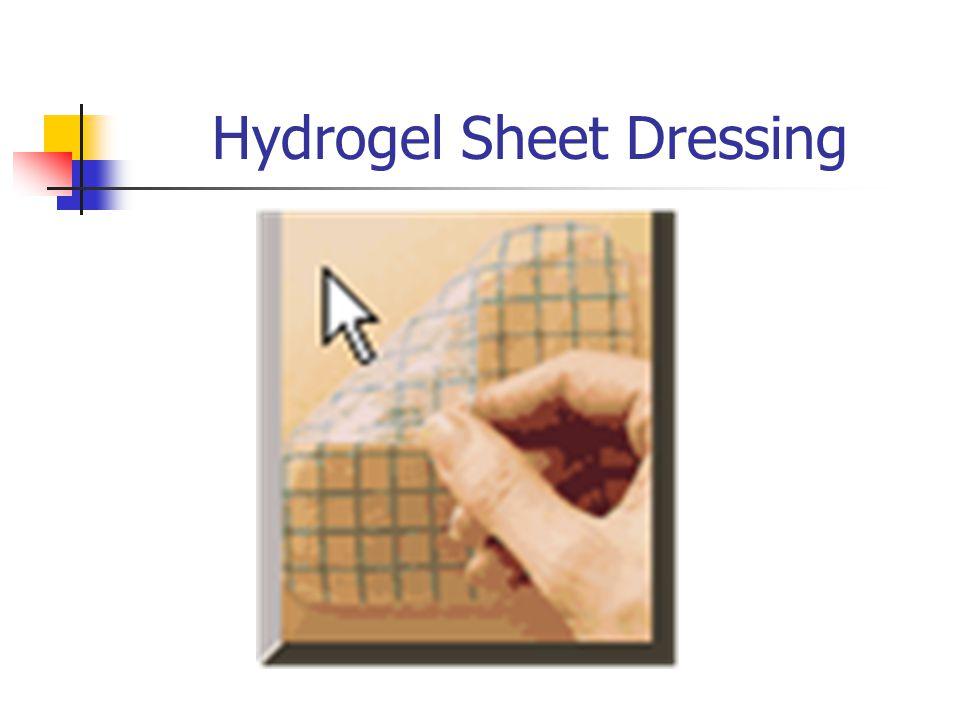 Hydrogel Sheet Dressing