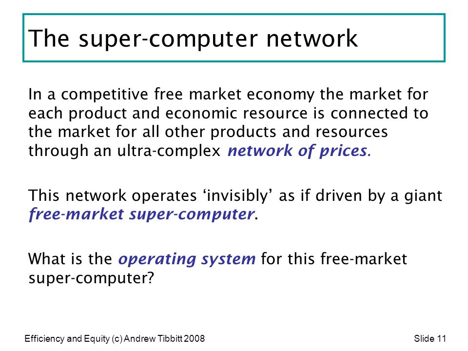 The super-computer network