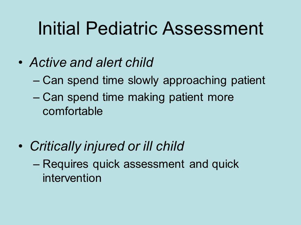 Initial Pediatric Assessment