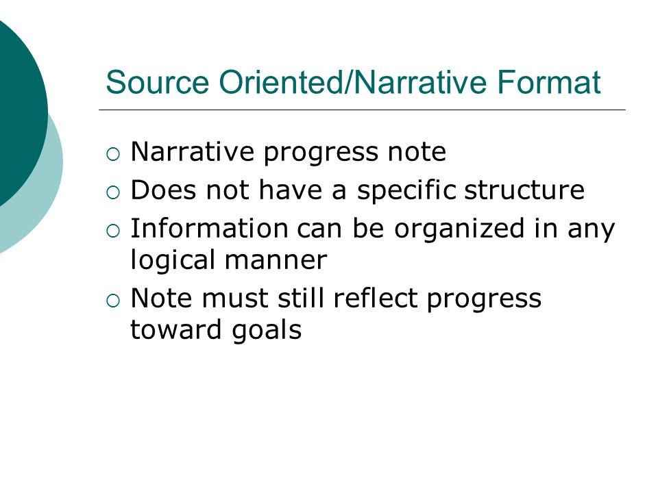 social work narrative