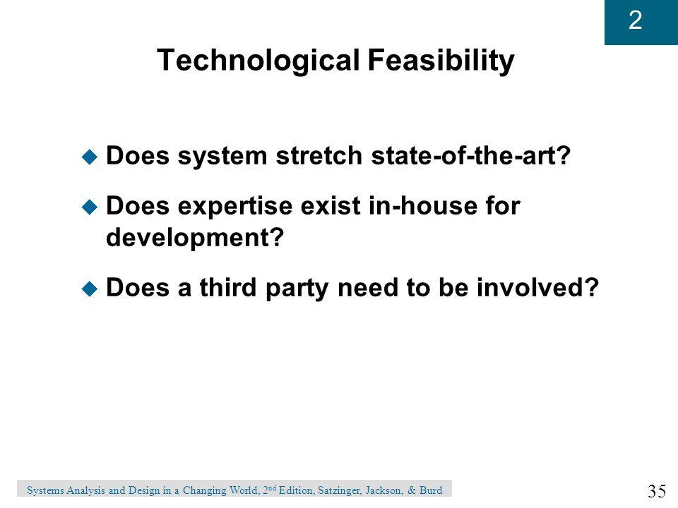 Technological Feasibility