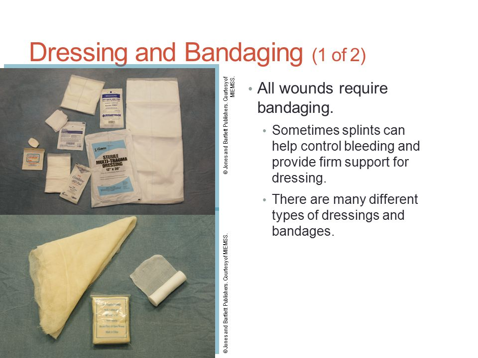 Dressing and Bandaging (1 of 2)