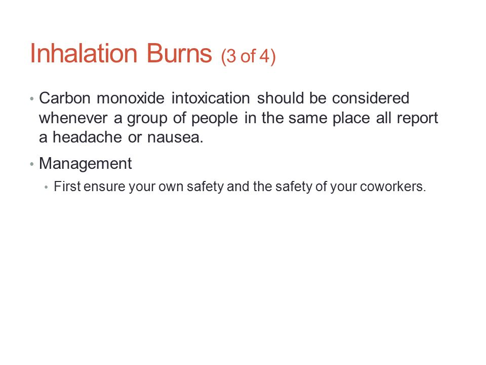 Inhalation Burns (3 of 4)
