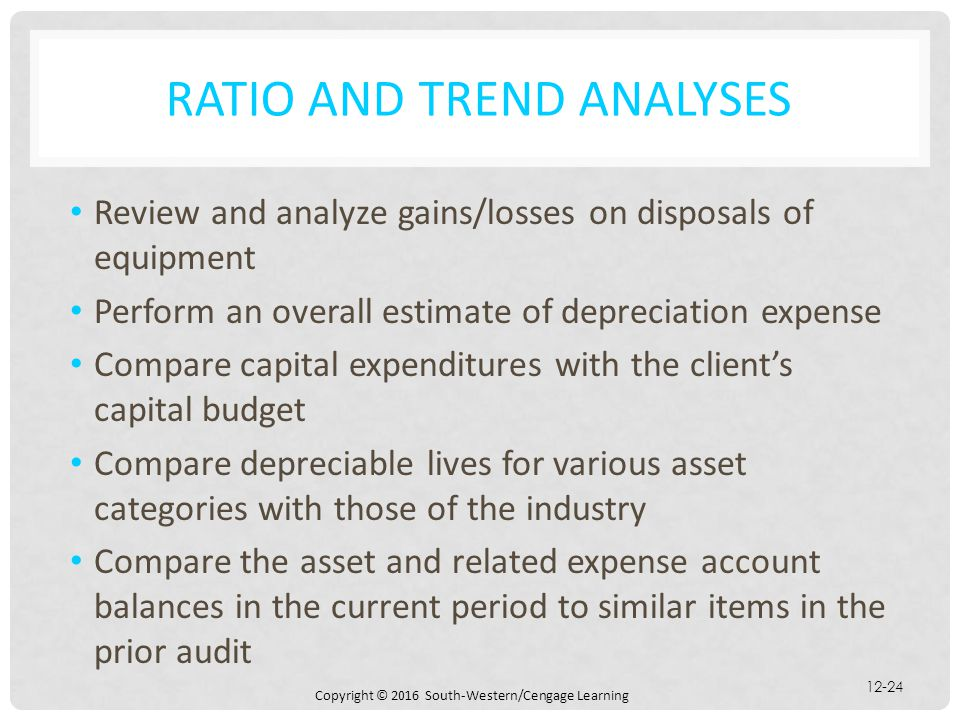 Ratio and Trend Analyses