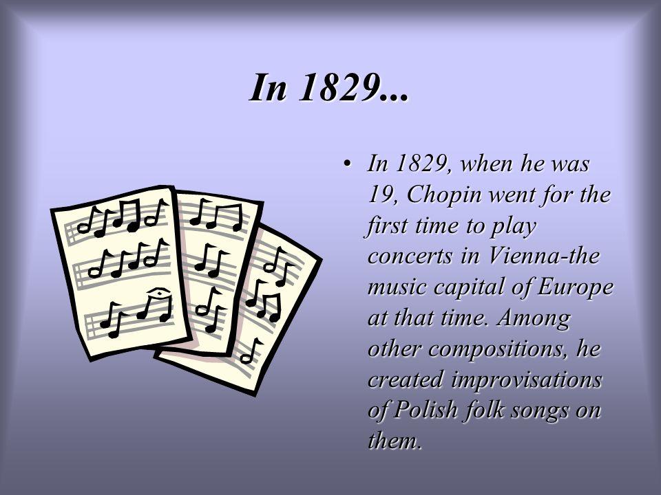 In 1829...