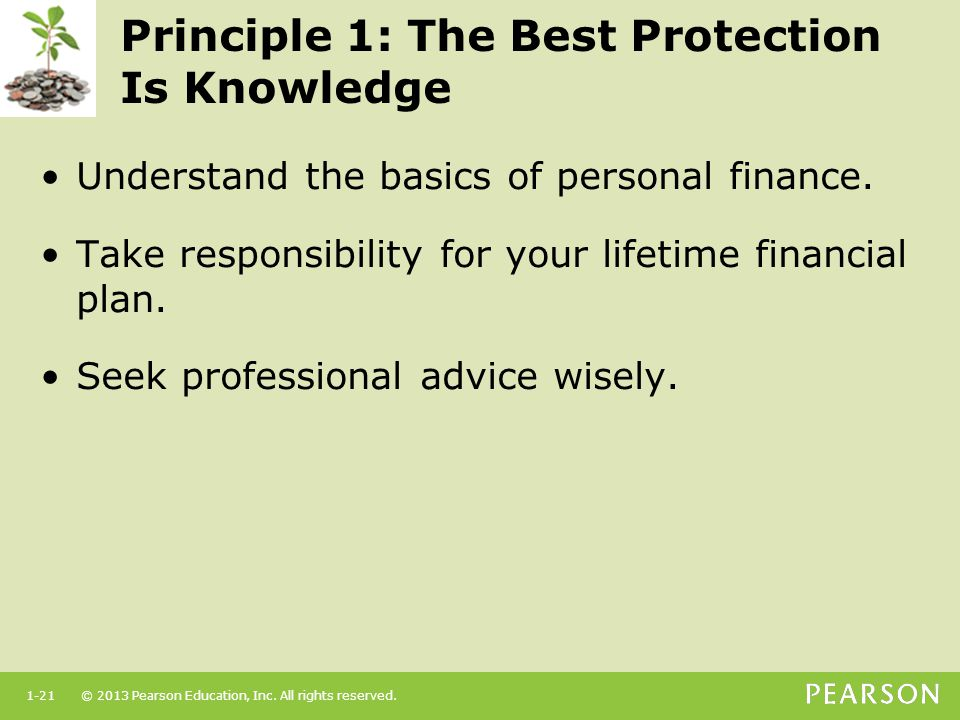 Principle 1: The Best Protection Is Knowledge