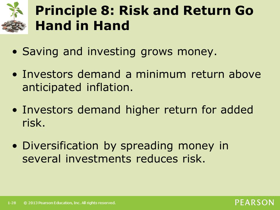 Principle 8: Risk and Return Go Hand in Hand