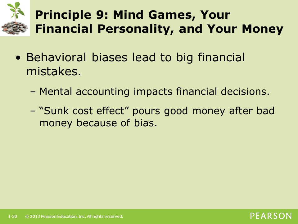Principle 9: Mind Games, Your Financial Personality, and Your Money