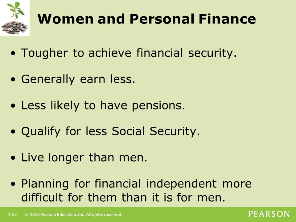 Women and Personal Finance