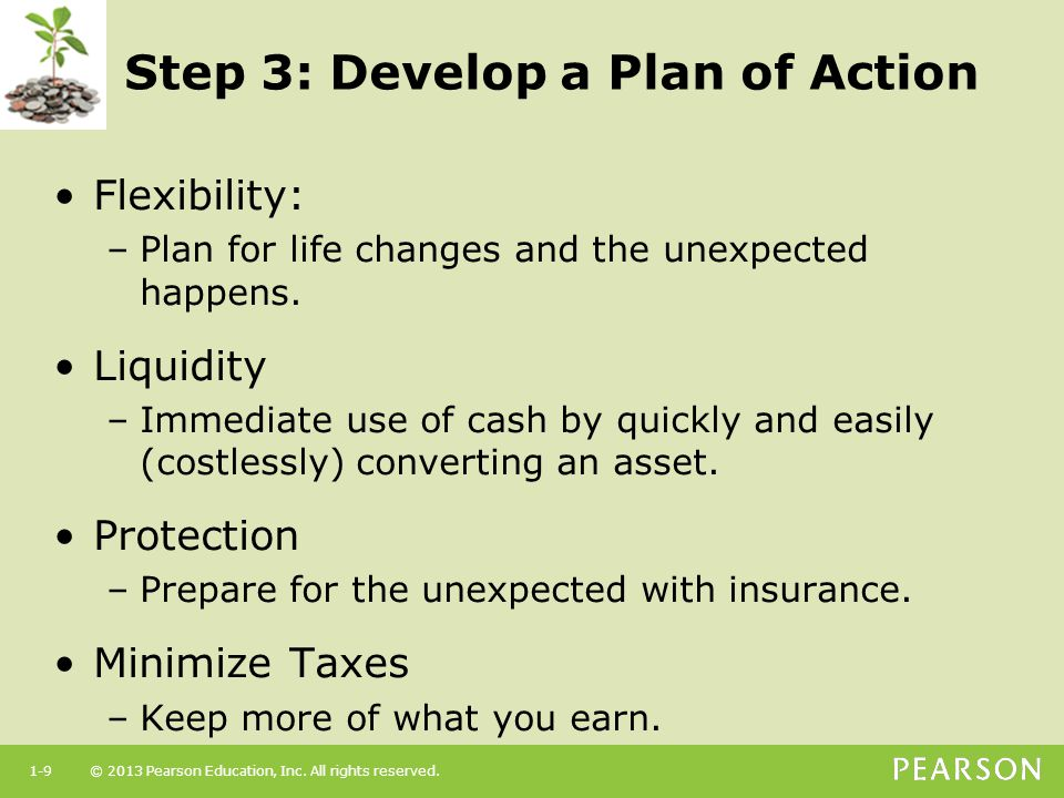 Step 3: Develop a Plan of Action