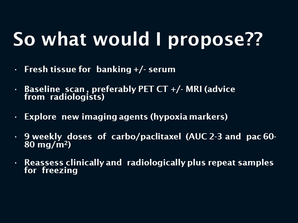 So what would I propose Fresh tissue for banking +/- serum