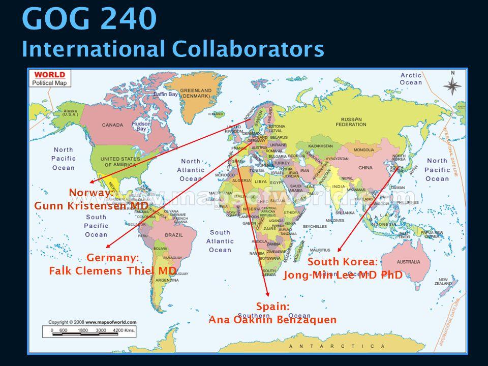 GOG 240 International Collaborators