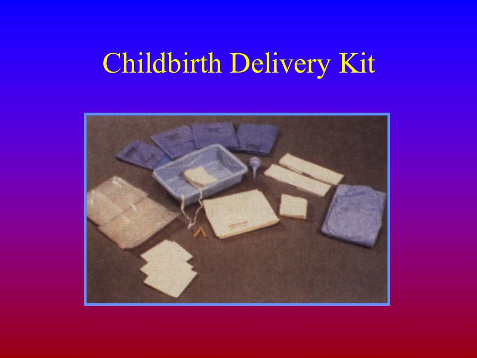 Childbirth Delivery Kit