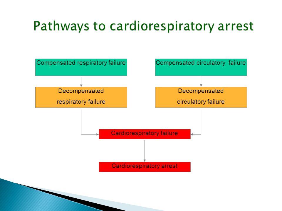 Pathways to cardiorespiratory arrest